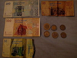 Moroccan dirham - Coins and banknotes in Moroccan dirhams (MAD).