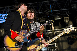 Dirty Pretty Things bei einem Festival in England, 2007