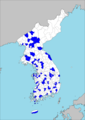 Distribution Map of Gun (administrative division).png