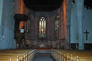 Bergen Cathedral - Image: Domkirken.bg.2