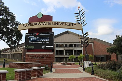 The Donald L. Tucker Center, home of the Seminoles. Donald L. Tucker Civic Center.jpg