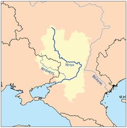 Ο παραπόταμος Ντόνετς