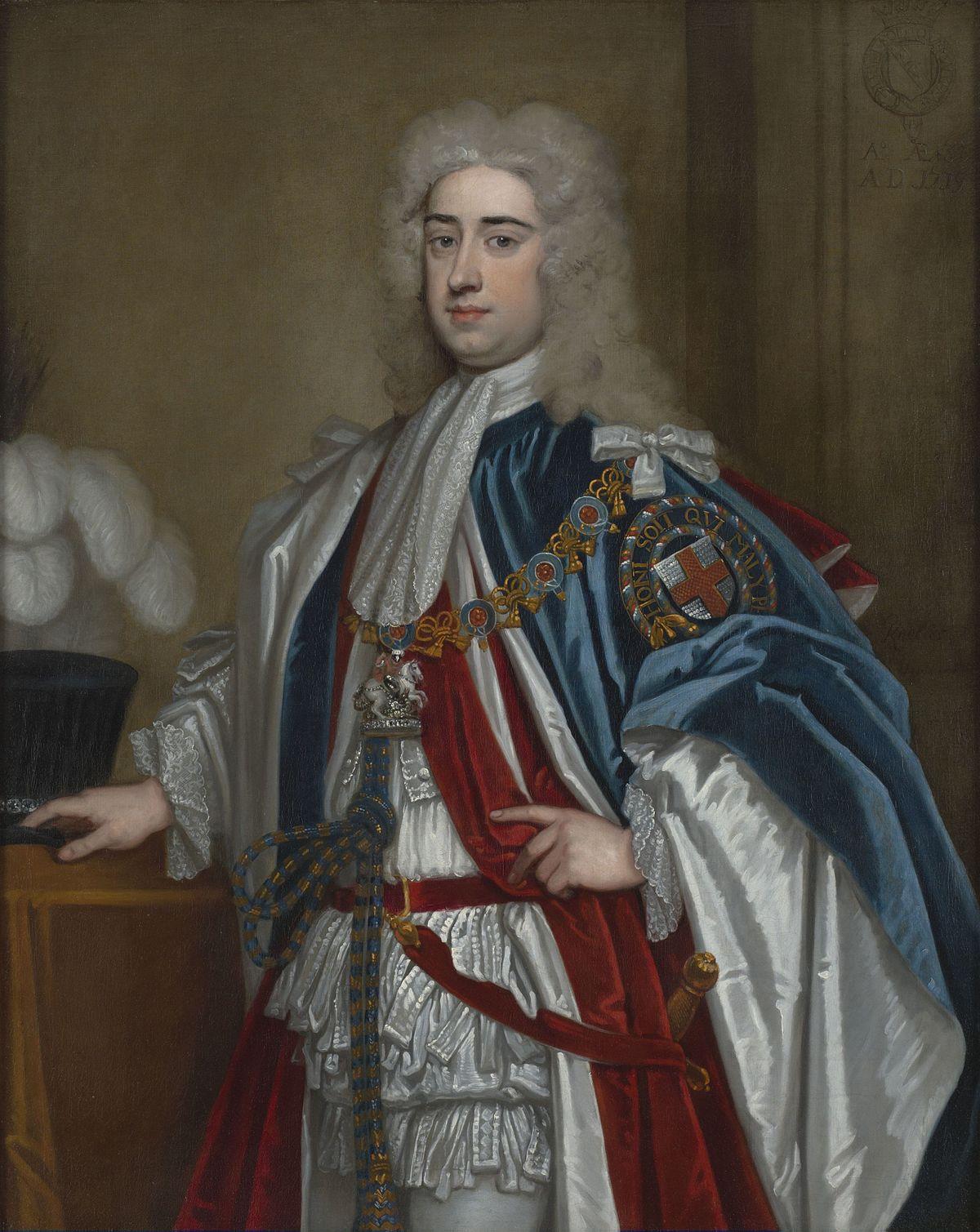 Lionel Sackville 1st Duke Of Dorset Wikipedia