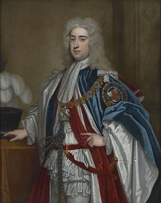Lionel Sackville, 1st Duke of Dorset - Lionel Cranfield Sackville, 1st Duke of Dorset (1719)
