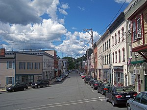 Chester (village), New York - View south along Main Street