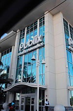 A standalone Publix in downtown Fort Lauderdale, Florida.