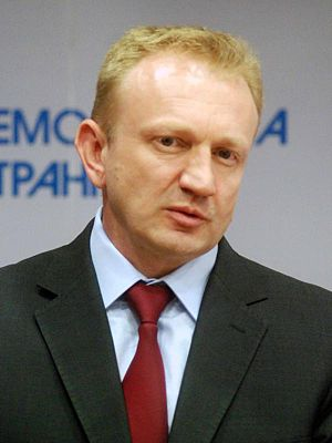 Opposition (Serbia) - Image: Dragan Đilas 2013