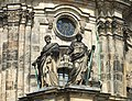 Dresden Hofkirche apostles Bartholomew and James.JPG