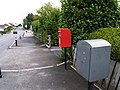 Drop box, Anderson Gardens, Omagh - geograph.org.uk - 562764.jpg