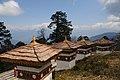 Druk Wangyal Chortens at Dochula on Thimphu-Punakha road Bhutan. - panoramio.jpg