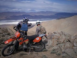 Dual-sport motorcycle - Lightweight KTM 525EXC, based on an off-road racing motorcycle