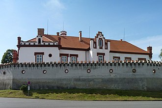 Dub (Prachatice District) - Château
