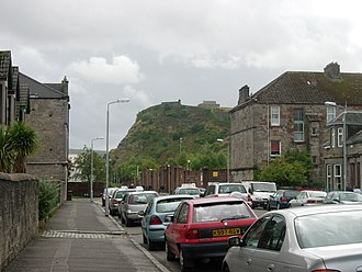Dumbarton Castle - The Rock dominates much of the skyline in southern Dumbarton