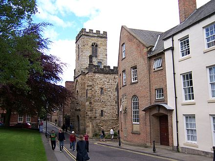 St Chad's College, one of the two independent colleges Durham Heritage Centre.jpg