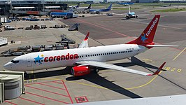 Boeing 737-800 van Corendon Dutch Airlines