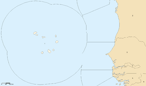 Cape Verde–Senegal Maritime Delimitation Treaty - maritime boundaries of Cape Verde, Mauritania, and neighboring countries.