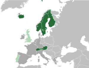 European Free Trade Association (EFTA), 1986