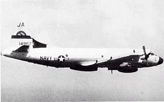 "Lockheed EP-3 - U.S. Navy Lockheed EP-3A Orion of air test and evaluation squadron VX-1 Pioneers in 1983. This aircraft was used in the ""EMPASS"" project, the ""Electromagnetic Performance of Air and Ship Systems"" (EMPASS) Project."