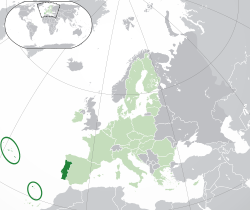 EU-Portugal with islands circled.svg