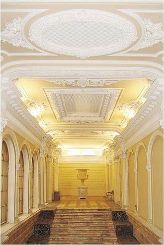 European University at Saint Petersburg - EUSP, the main hallway