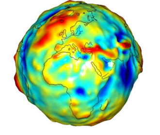 Geophysics - Image: Earth gravity