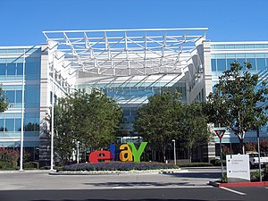 The satellite office campus of eBay in the Nor...