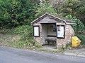 Ebbesbourne Wake, bus shelter - geograph.org.uk - 1030658.jpg