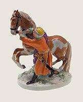 Eckstein Man in Polish costume restraining the horse.jpg