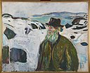 Edvard Munch - Old Fisherman on Snow-covered Coast - MM.M.00425 - Munch Museum.jpg