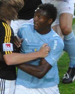 Edward Ofere Nigerian football player, born 1986.