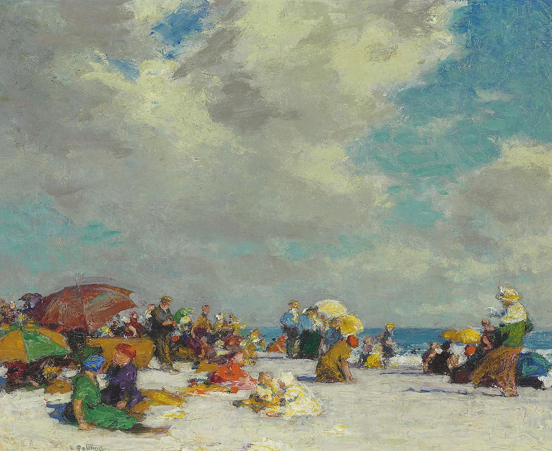 Edward Henry Potthast - A Summer Afternoon