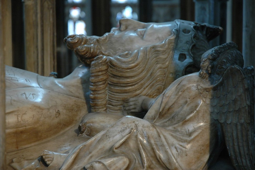 Edward II - detail of tomb