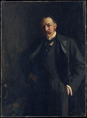 Edward R. Bacon - Zorn's 1897 portrait of Mr. Bacon