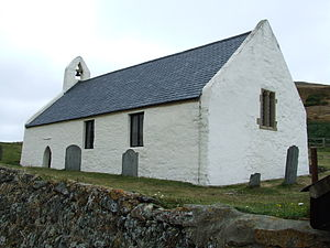 Christianity in Wales - Eglwys-y-Grog, a 13th-century church in Mwnt, Ceredigion