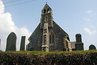 Tudweiliog - Image: Eglwys St Cwyfan Tudweiliog geograph.org.uk 377548