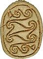 Egyptian - Scarab Amulet - Walters 4216 - Bottom (2).jpg