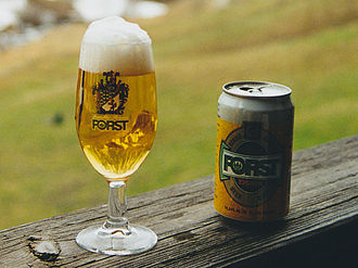Forst (brewery) - A FORST Kronen beer (5.2% vol.alc.)