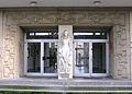 Eingang des früheren Eisenbahnerwaisenhauses an der Händelstraße in Freiburg.jpg