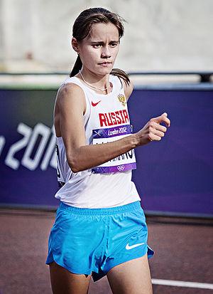 Elena Lashmanova - Image: Elena Lashmanova London 2012