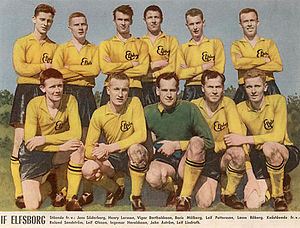 IF Elfsborg - Elfsborg squad who won the national championship 1961.