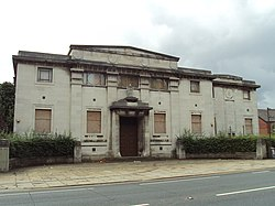 The abandoned Elinor Lupton Centre on Headingley Lane