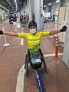 Eliza Ault-Connell Australian wheelchair racer