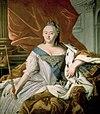 Elizabeth of Russia by anonym after Caravaque (1750s, Taganrog).jpg