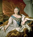Elizabeth of Russia by anonym after Caravaque (1750s, Taganrog).jpg