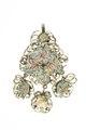 Emaljerad baksida på örhänge från 1600-talets sista hälft - Livrustkammaren - 97836.tif