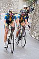 Emilia Fahlin and Marie Lindberg, Mendrisio 2009 - Women Elite.jpg