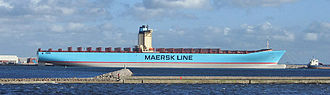 Twenty-foot equivalent unit - Image: Emma Maersk 2006