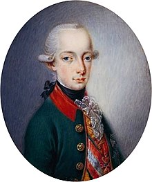 Erzherzog Franz Joseph Karl von Österreich, der spätere Kaiser FranzII./I. (Quelle: Wikimedia)