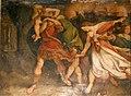 Enea fugge da Troia con la sua famiglia - Ludovico Carracii.JPG