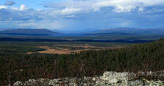 Femundsmarka National Park - Image: Engerdal Femunden